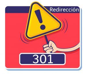 precaucion redireccion 301