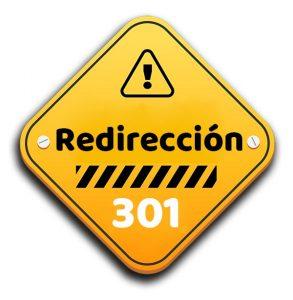 hacer redireccion 301