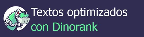 texto optimizado con dinorank
