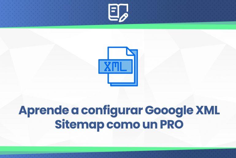 tutorial configurar sitemaps de Google