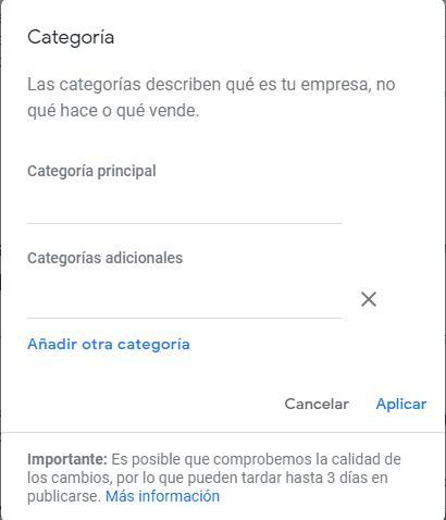 google-my-business-categorias