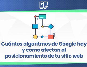 algoritmos de Google SEO
