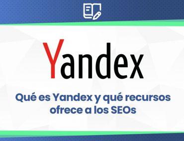 se explica qué es el buscador yandex