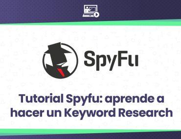 tutorial de la herramienta seo spyfu para Keyword Research