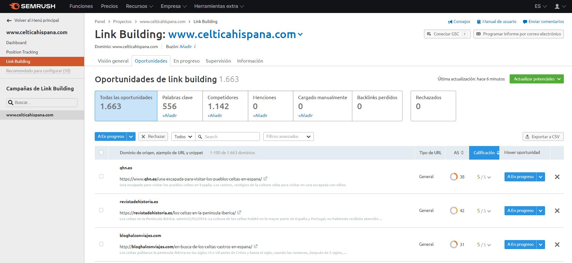 link building oportunidades