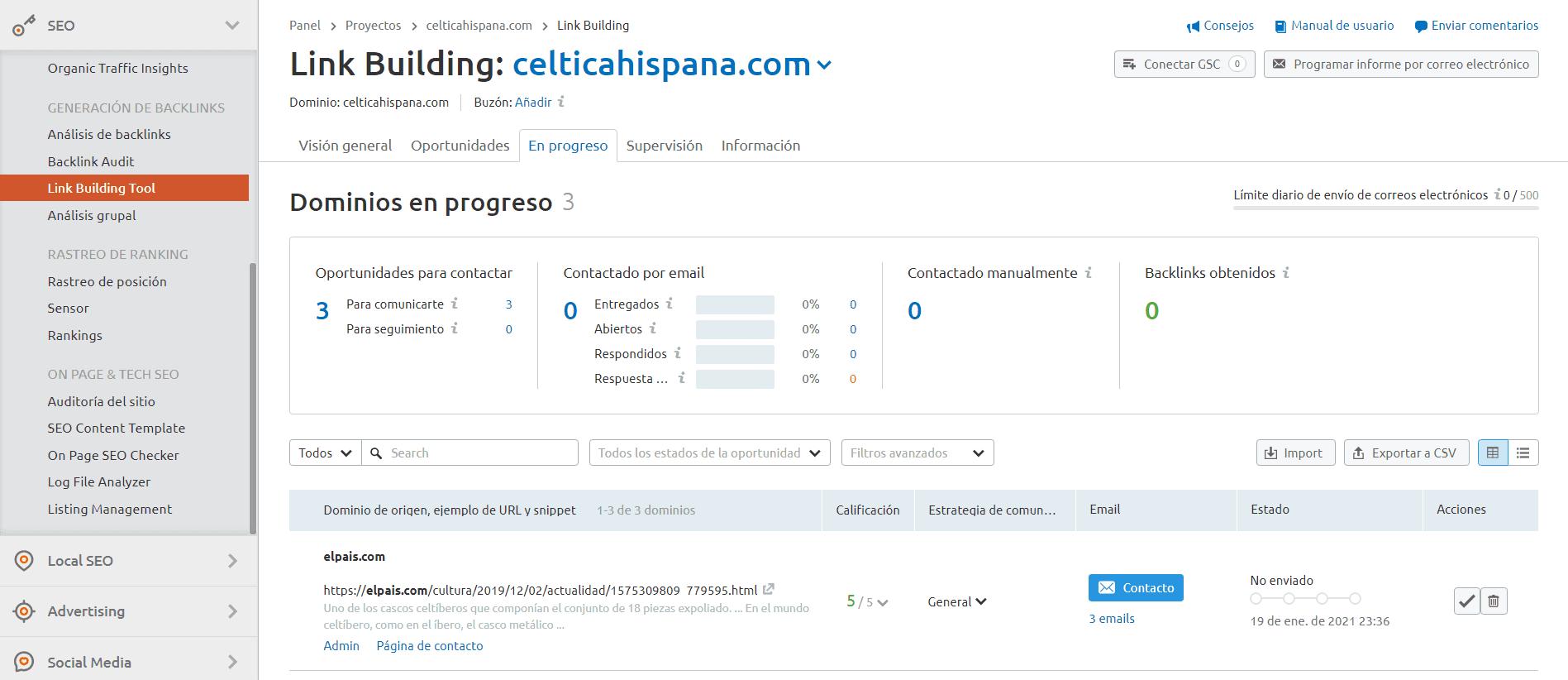 link building tool