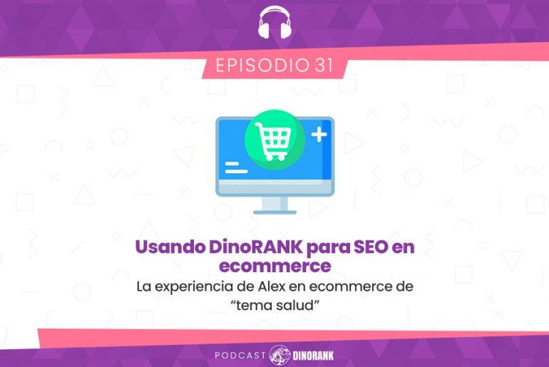 Usando DinoRANK para SEO en ecommerce