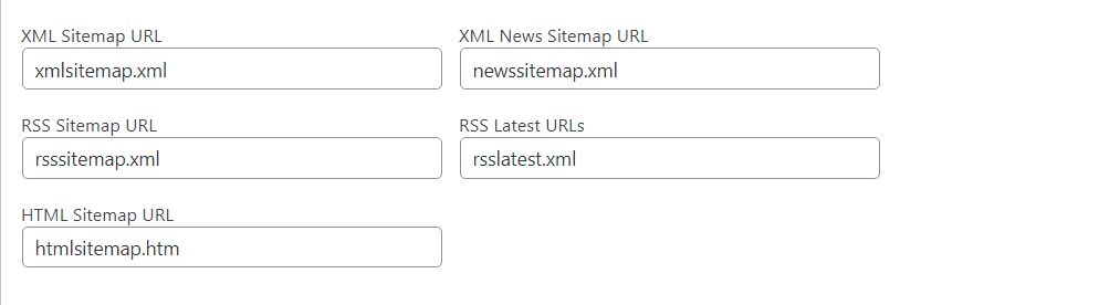 sitemap google xml