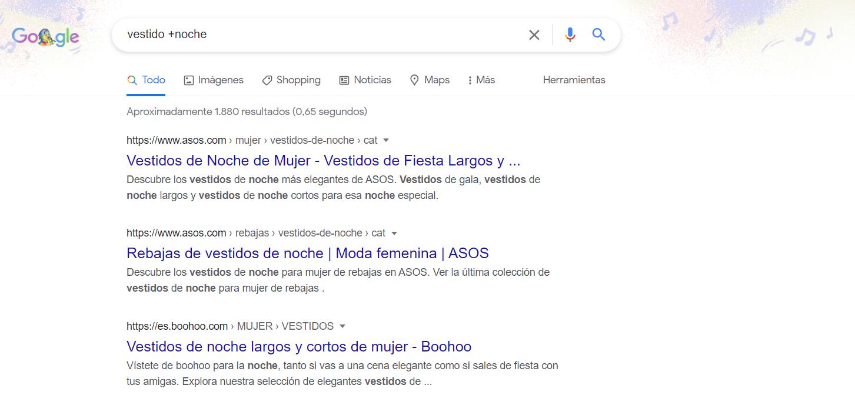 comando + google