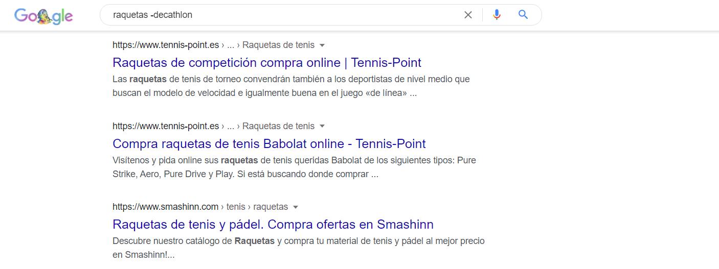 comando - google