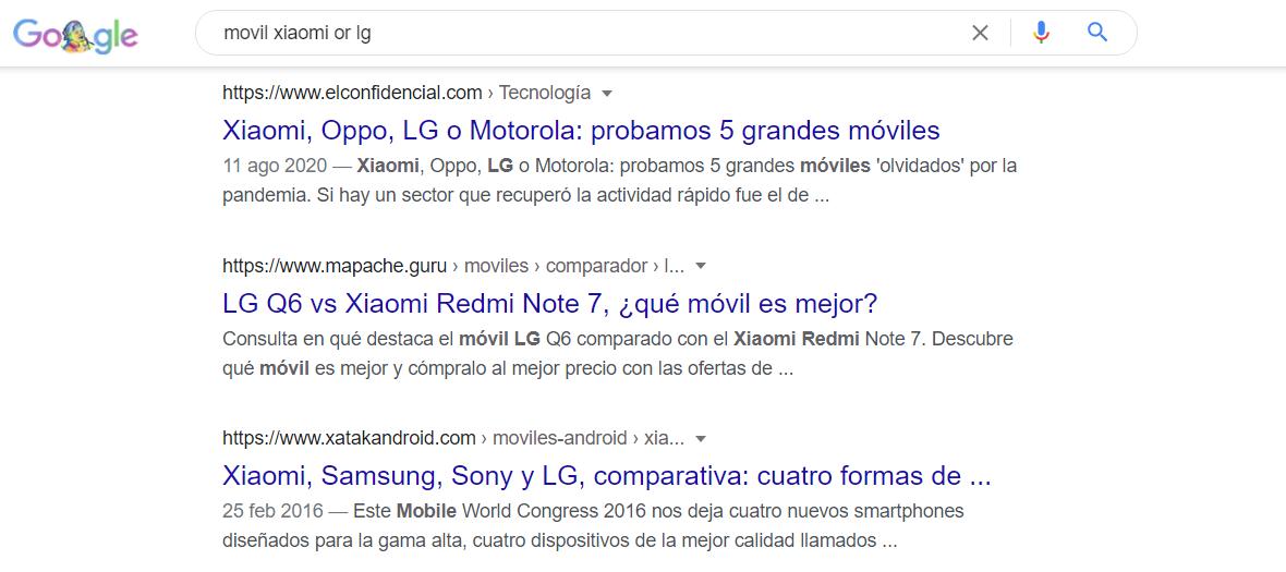 comando or google